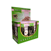 natures:menu Kitten Cooked Food Pouches For Cats Chicken 100g (KIT400)