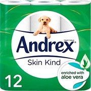 Andrex Skin Kind White 12roll (10120)