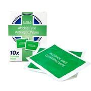 Cms Alcohol Free Antiseptic Wipes (WIPESX6)