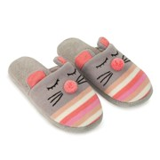 Aroma Home Knitted Animal Slippers Mouse (KAS-0002)