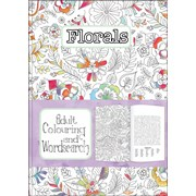 Adult Colouring & Wordsearch Books Asstd (AWS01-12)
