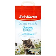 Bob Martin Stay Fresh Antibacterial Clumping Cat Litter 10l (B0528)