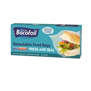 Baco Zip N Seal Sandwich Bags 25s (85B45)
