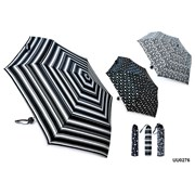 Ball Handle Black & White Umbrella (UU0276)