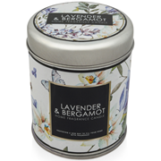 Baltus Candle In Tin Lavender & Bergamot (501805)