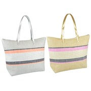 Paperstraw Striped Bag (BB1051)