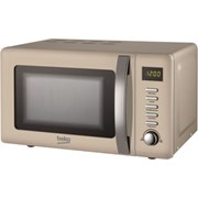 Beko Retro 800w Microwave Cream 20l (MOC20200C)
