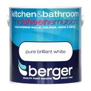 Berger Kitchen & Bathroom Brilliant White 2.5lt (5070700)