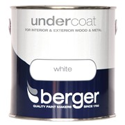 Berger Undercoat Brilliant White 2.5lt (5026299)