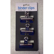 Binder Clips x 3 67mm (C712)