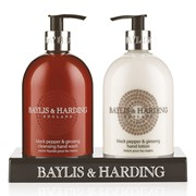 Baylis & Harding Black Pepper&ginseng 2 Bottle Set (BMBP2BTL)