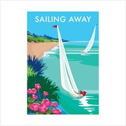 Blank Card Sailing Away (BB78928)