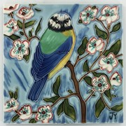 Benaya Tiles Blue Tit 8x8 (BE181002)