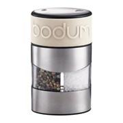 Bodum Twin Salt & Pepper Grinder Off White (11002-913)