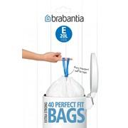 Brabantia 20lt Bin Liners Size E 20s (245329)