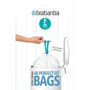 Brabantia 20lt Slim Bin Liners Size F 40s (375644)