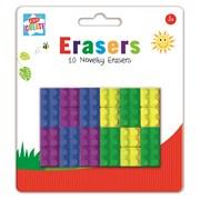 k Shape Erasers (BRIC)