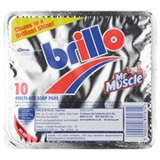 Brillo Soap Pads 10s (336114)