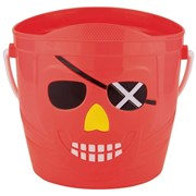 Pirate Bucket Assorted 14cm (BU1245)
