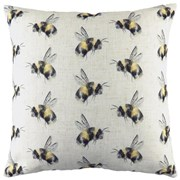 Evans Lichfield Knife Edge Bee You Repeat Cushion 43cm (DPB341)