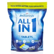 Astonish Dishwasher All In 1 Tabs 42s (C2170)