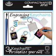 Royal Brush Engraving Art Keychains (CA40)