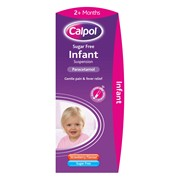 Calpol Infant Sugar Free 100ml (75480)