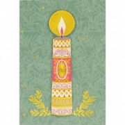 Boxed Christmas Cards Candle Of Peace 20s (0253)
