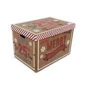 Candy Stripe Xmas Gift Box (XMN0953)
