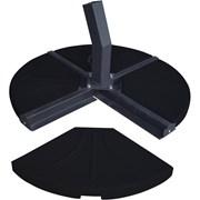 4 Part Cantilever Parasol Base Concrete 80kg (91400)
