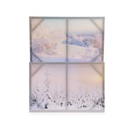 Canvas Painting Landscape Snow 40x60c (510539)