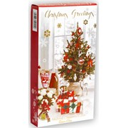 Simon Elvin Boxed Christmas Cards Slim Portrait 14s (26655)