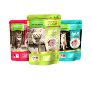 natures:menu Cooked Food Pouches For Cats Assorted 100g (CAT4MUL)