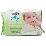 Cussons Baby Wipes Aloe 64s (CBWA)