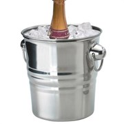 Champagne Bucket Stainless Steel (WB-CHAMP)