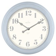 Chester Wall Clock Blue (22489)