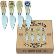 Gourmet Cheese Knives 4s (CHKN3607)