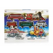 Christmas Train With Choo Choo & Headlight 22pc (AC184529)