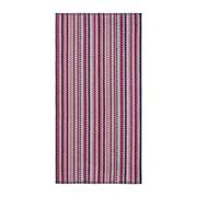 Christy Carnaby Stripe Bath Sheet Berry (10513730)