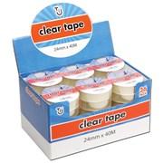 Tj Clear Tape 24mm x 40m (TJ02)