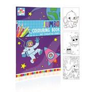 Jumbo Colouring Book 160 Pge (CLIC)