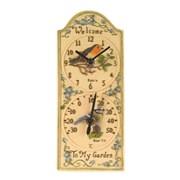 Smart Garden Birdberry Wall Clock & Thermometer (5064006)
