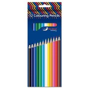 Owl Brand 12 Full Length Colouring Pencils (OBS1019)