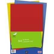 Coloured Card 20sheet A4 (PVS003)