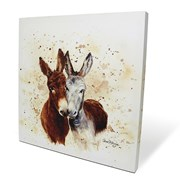 Colourful Jack & Diane Box Canvas 40x40 (BXL40011)