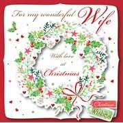 Contemporary Wife Xmas Card (X-18855-C)