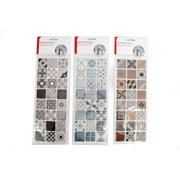 Tile Wall Stickers 24pk 35cm (CR1643)