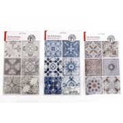 Tile Wall Stickers 6pk 27cm (CR1644)