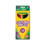 Crayola 12 Coloured Pencils (03.3612)
