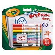 Crayola 8 Washable Markers (98-2002-E-000)
